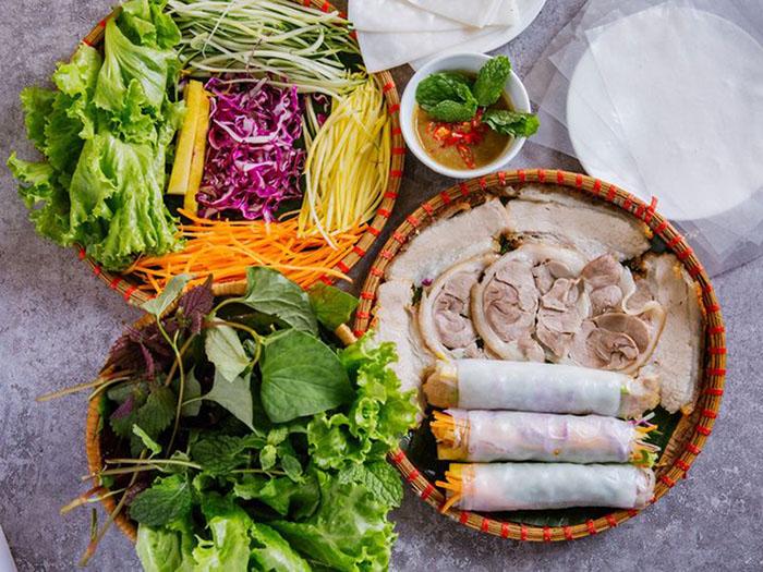 Bánh tráng cuốn thịt heo Đà Nẵng – đậm đà hương vị xứ Đà Thành