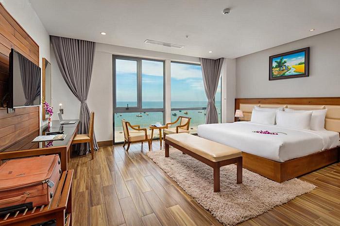 Khách sạn Alisia với hệ thống phòng nghỉ hiện đại, đầy đủ tiện nghi