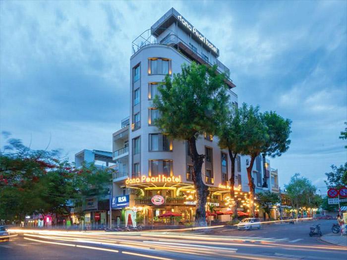 Dana Pearl Hotel - khách sạn 3 sao Đà Nẵng với kiến trúc hiện đại, độc đáo