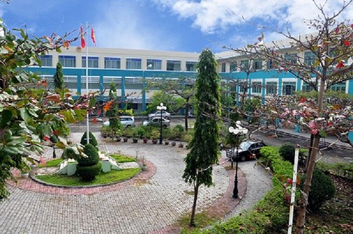 Một góc khuôn viên trường Cao đẳng nghề Đà Nẵng