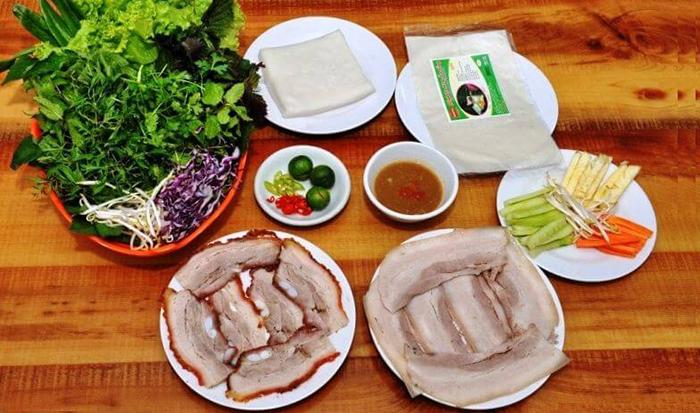 Bánh tráng cuốn thịt heo - món ngon Đà Nẵng ai cũng mê