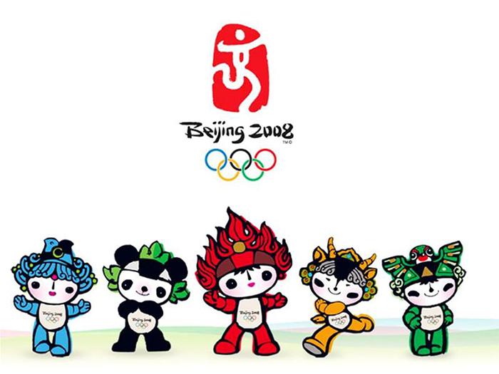 Logo đại hội thể dục thể thao Olympic Bắc Kinh 2008