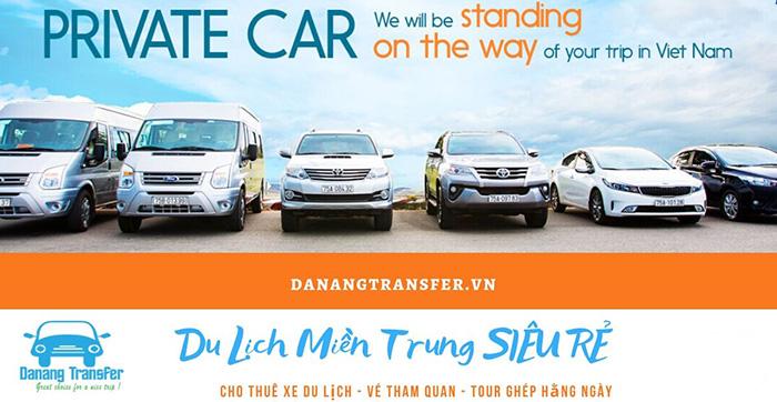 Dịch vụ thuê xe tại Danang Transfer được khách hàng đánh giá cao