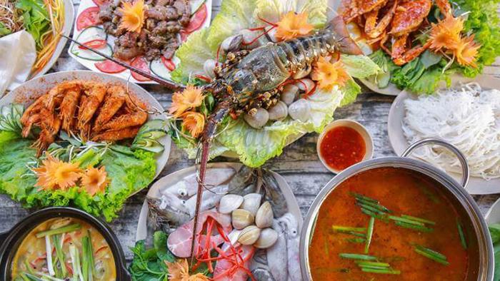 Hải sản Đà Nẵng tươi ngon, hấp dẫn