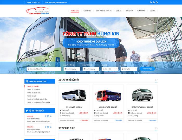 Trang web chính thức của công ty khách hàng có thể truy cập để tìm hiểu các dịch vụ cần thiết
