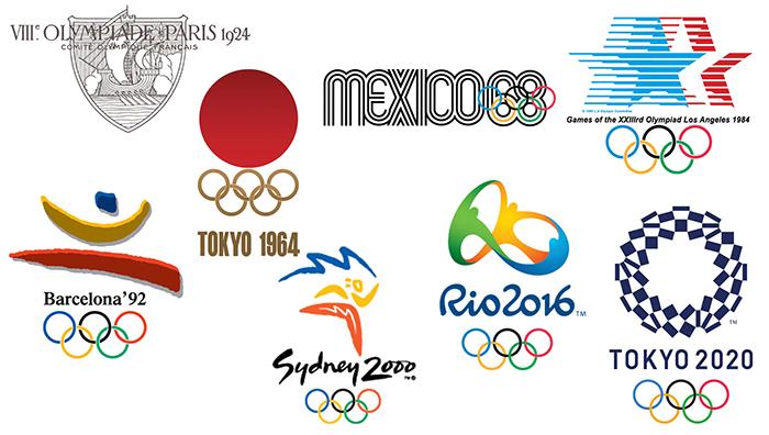Top logo đại hội thể dục thể thao Olympic ấn tượng nhất
